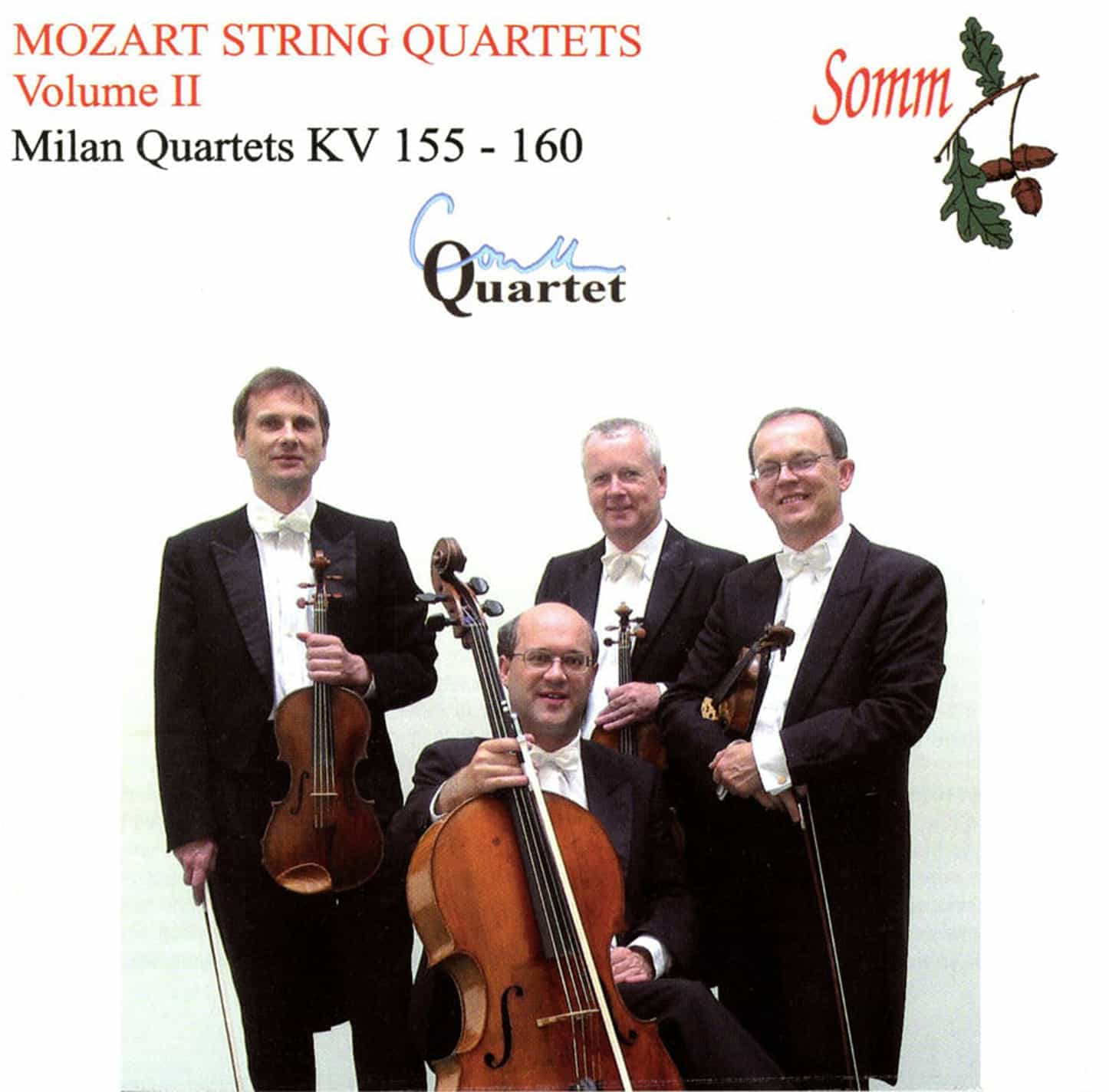 Mozart String Quartets Volume II