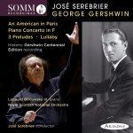 Gershwin Centennial Edition Album Cover