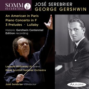Gershwin Centennial Edition Album Cover