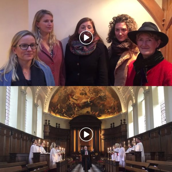 Screenshots of Papgena and the Chapel Choir of the Royal Hospital Chelsea's videos on Classic FM