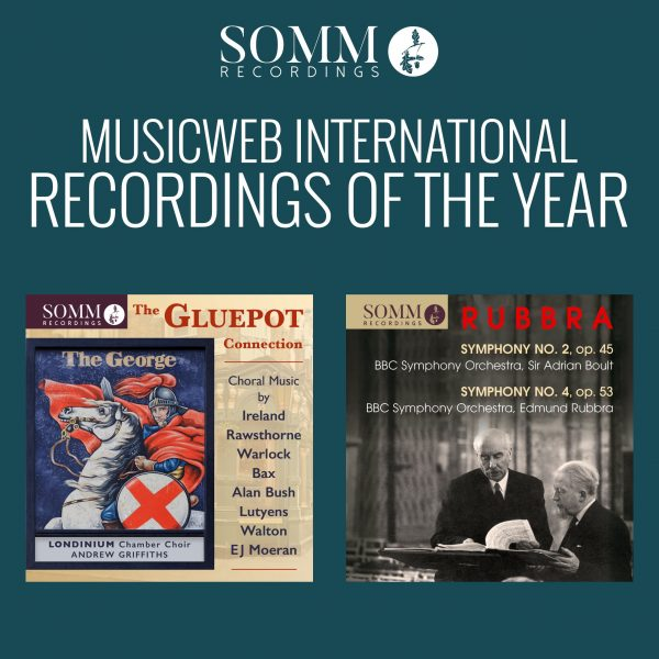 2018 MusicWeb Recordings of the Year - Rubbra Symphonies and The Gluepot Connection