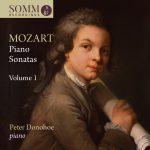Wolfgang Amadeus Mozart Piano Sonatas Volume I Album Cover