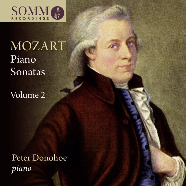 Mozart Piano Sonatas Vol. 2 Cover