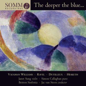 The deeper blue…