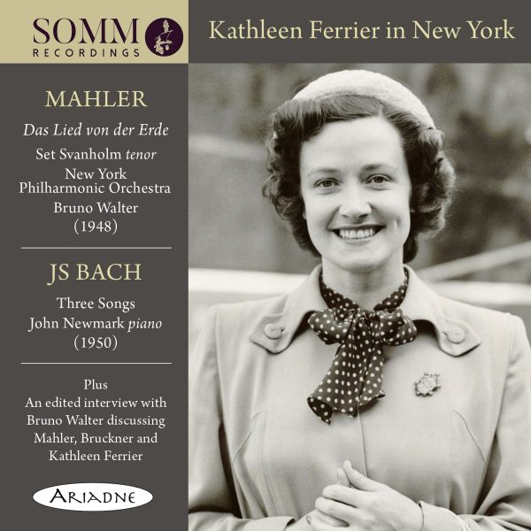 Kathleen Ferrier in New York