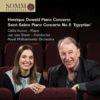 Henrique Oswald: Piano Concerto & Saint-Saëns: Piano Concerto No. 5 'Egyptian'