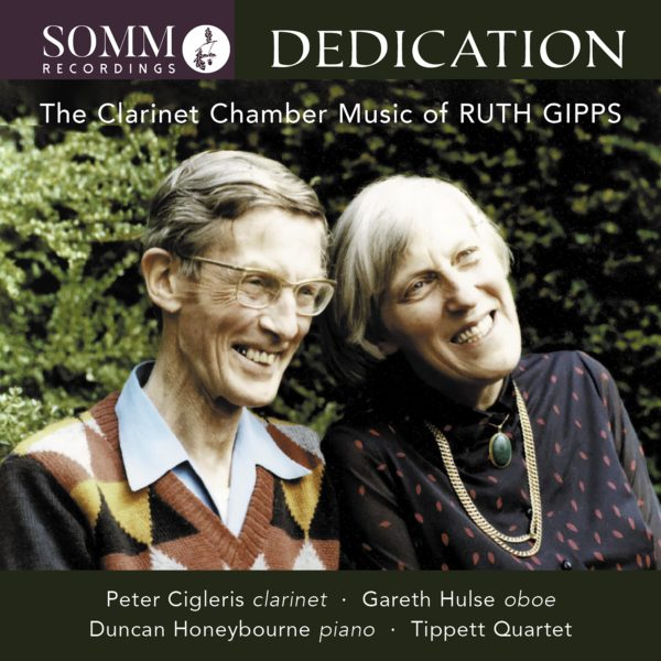 Dedication: The Clarinet Chamber Music of Ruth Gipps Album Cover
