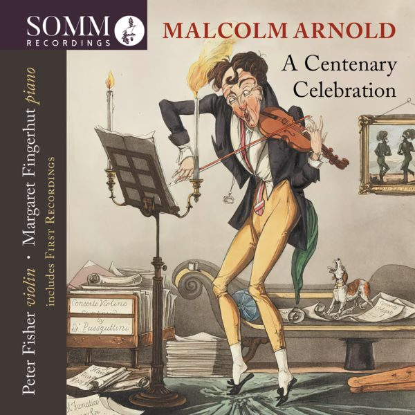 Malcolm Arnold: A Centenary Celebration Album Cover